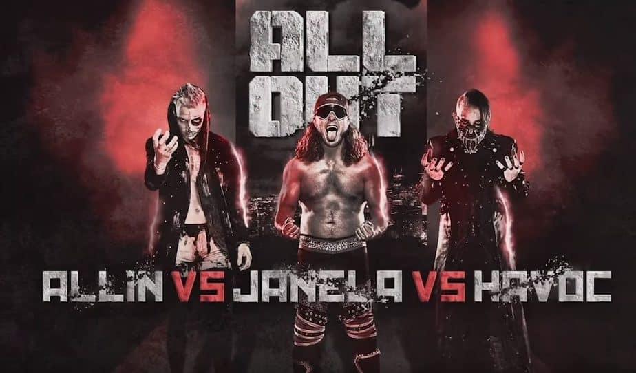 all elite wrestling blink 182 joey janela fight all out
