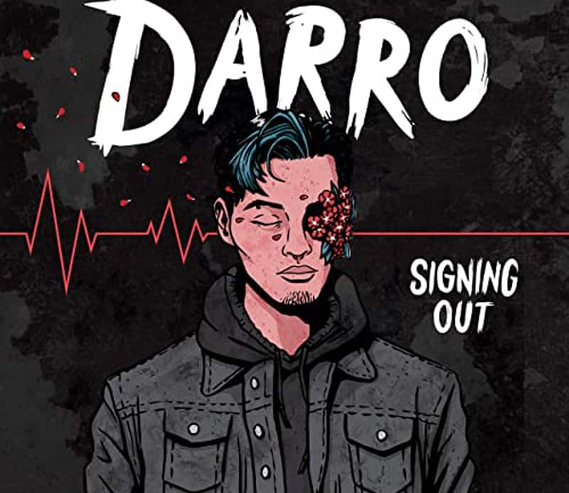 Single artwork for Darro's new single Signing Out