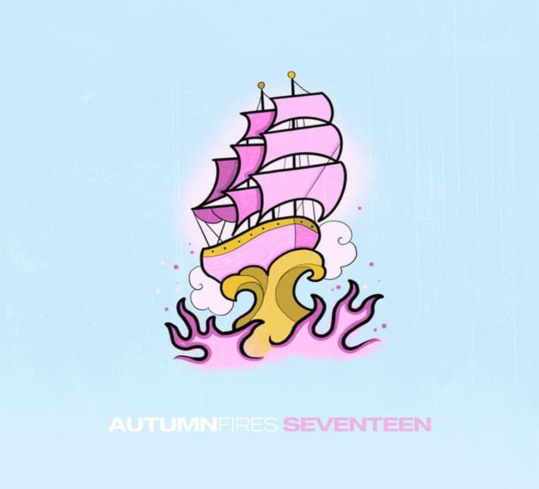 "Artwork for Autumn Fires' new single ""Seventeen."""
