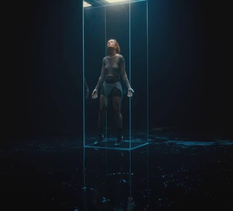 "Still from FLETCHER's music video for ""Healing"""