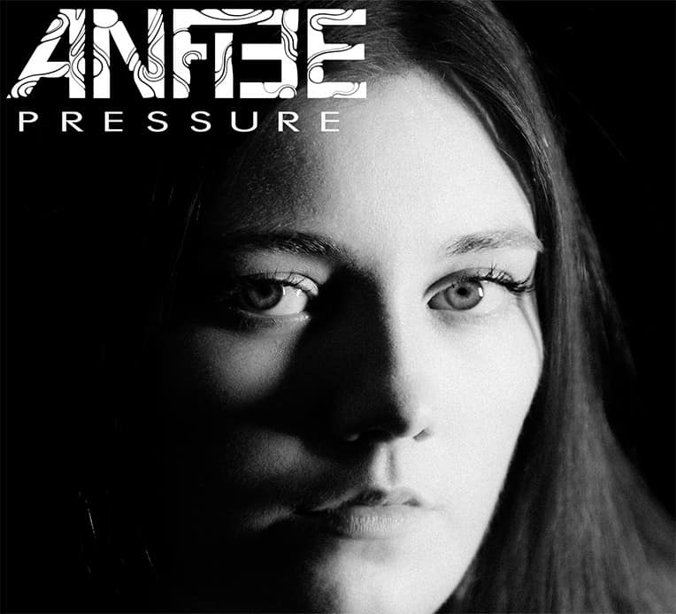 """Artwork for ANFIEE's new single """"Pressure."""""""