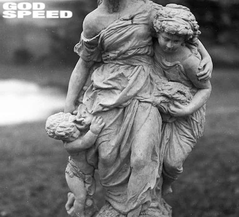 Artwork for Young Culture's new EP 'Godspeed'