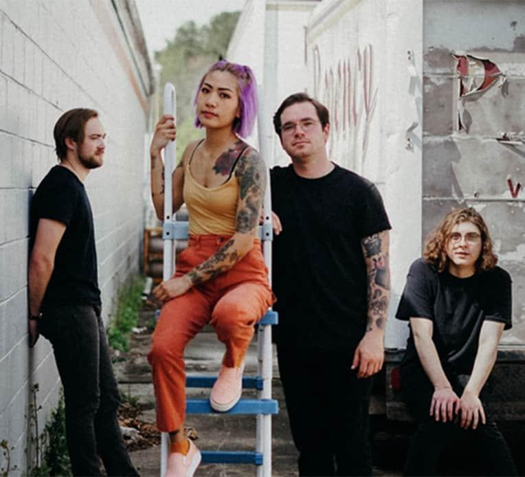 Band photo of Emo-Pop band FRAMES