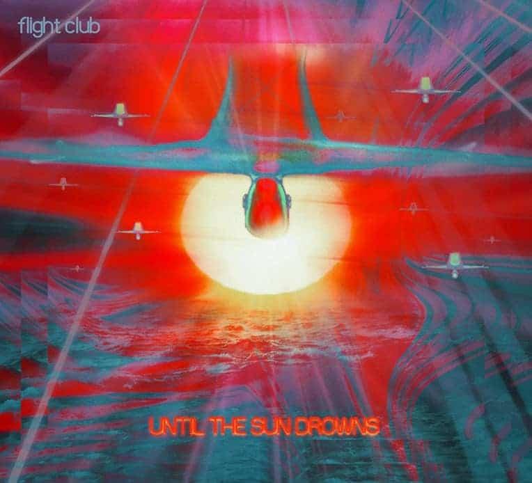 Artwork for Flight Club's new album 'Until The Sun Drowns.'