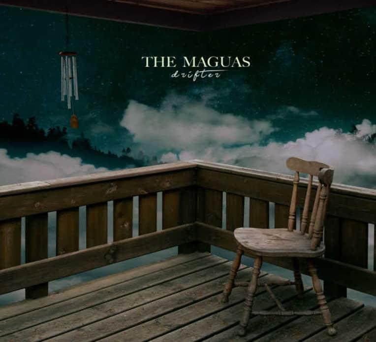 "Single artwork for The Maguas' latest single ""Drifter"""