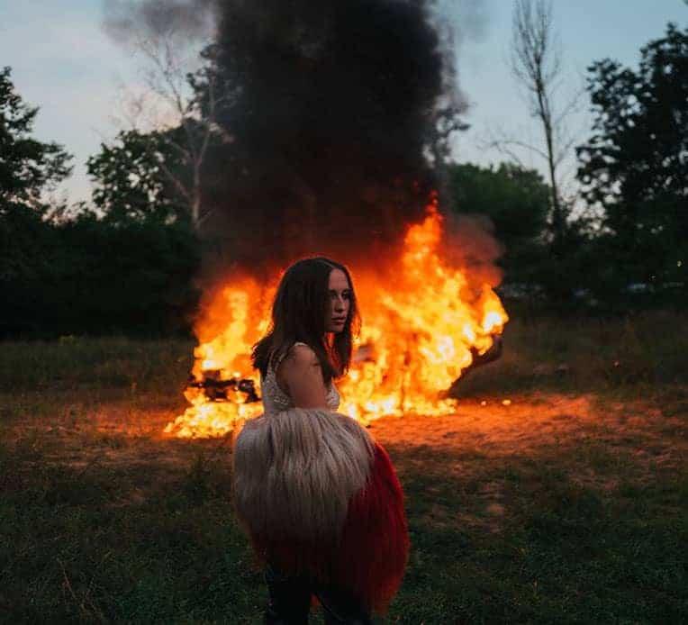 """Still from Alice Merton's music video for her new single, """"Hero."""""""