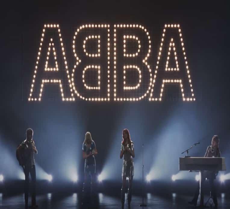 Still from Abba's music video for new single I Still Have Faith In You