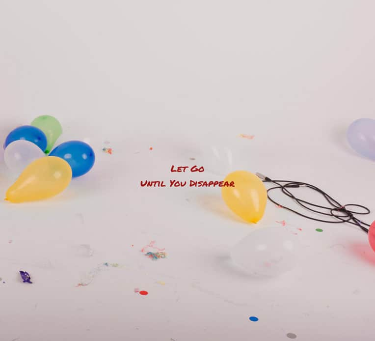"""Single artwork for Until You Disappear's latest single, """"Let Go."""""""