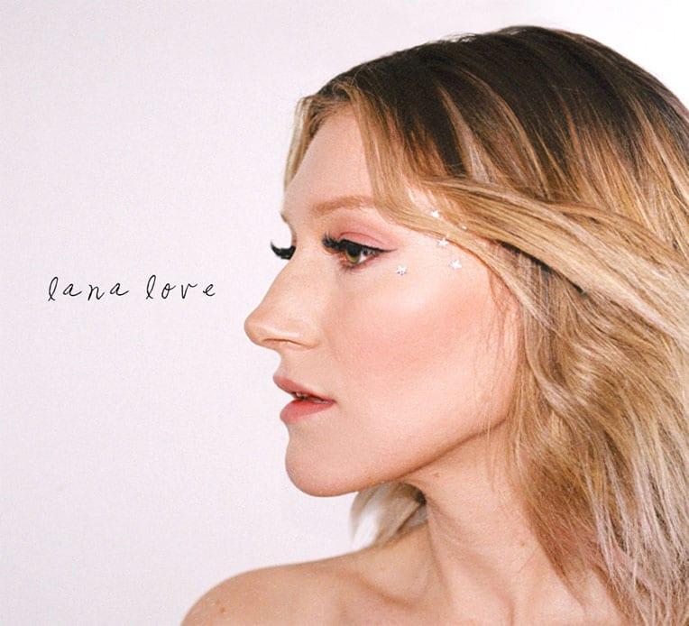 Album artwork for Lana Love's self-titled album